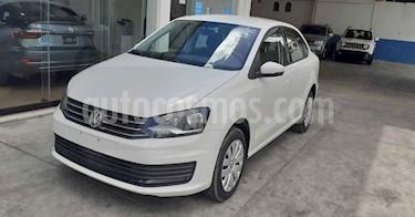 Volkswagen Vento 4p Starline L4/1.6 Aut usado (2019) color Blanco precio $169,800