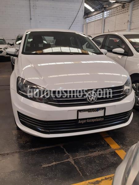 Volkswagen Vento Startline Aut usado (2018) color Blanco precio $159,500