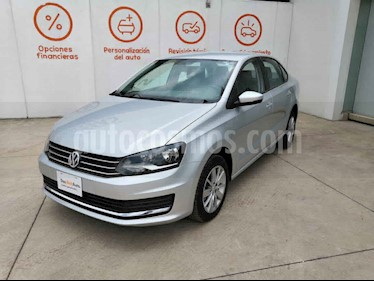 Volkswagen Vento 4p Confortline L4/1.6 Man usado (2019) color Plata precio $246,990