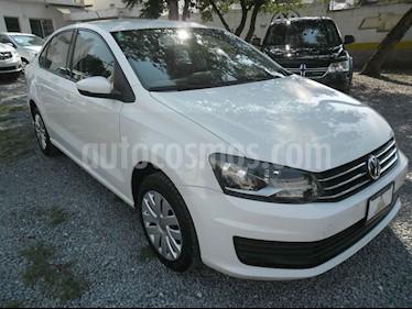 Volkswagen Vento Startline Aut usado (2019) color Blanco precio $179,000