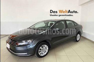 Volkswagen Vento 4p Confortline L4/1.6 Man usado (2019) color Gris precio $214,894