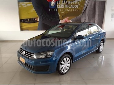Volkswagen Vento 4P STARLINE AT A/AC. MP3 R-15 usado (2018) color Azul precio $168,900