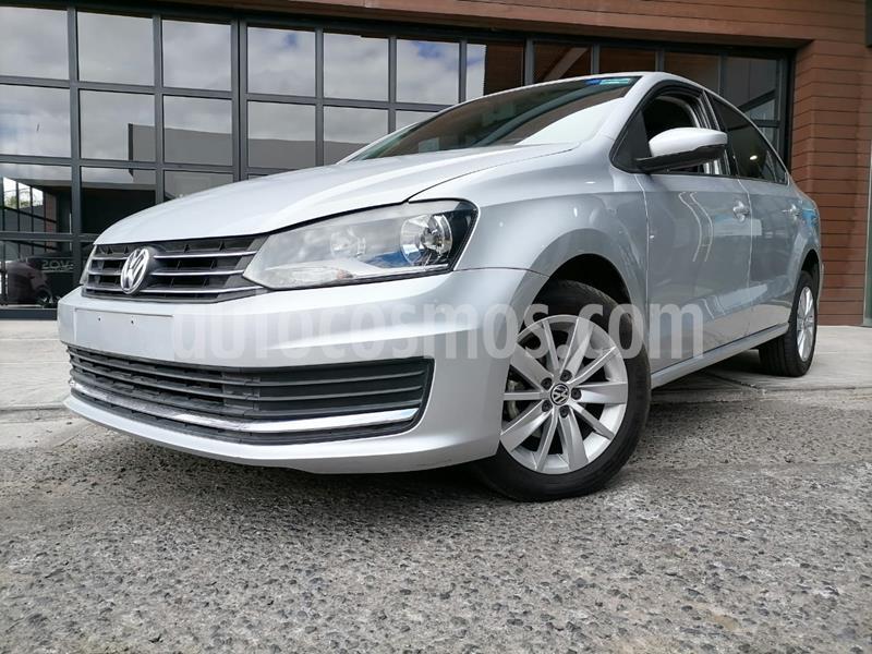 Volkswagen Vento Comfortline usado (2017) color Plata Reflex precio $165,000