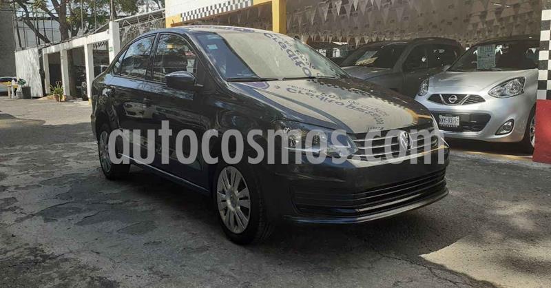 Volkswagen Vento Startline Aut usado (2019) color Negro precio $179,900