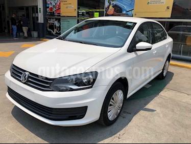 Volkswagen Vento 4p Starline L4/1.6 Aut usado (2020) color Blanco precio $211,990