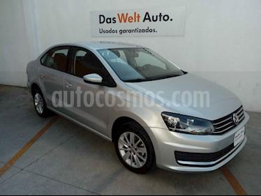 Volkswagen Vento 4p Confortline L4/1.6 Man usado (2019) color Plata precio $225,000
