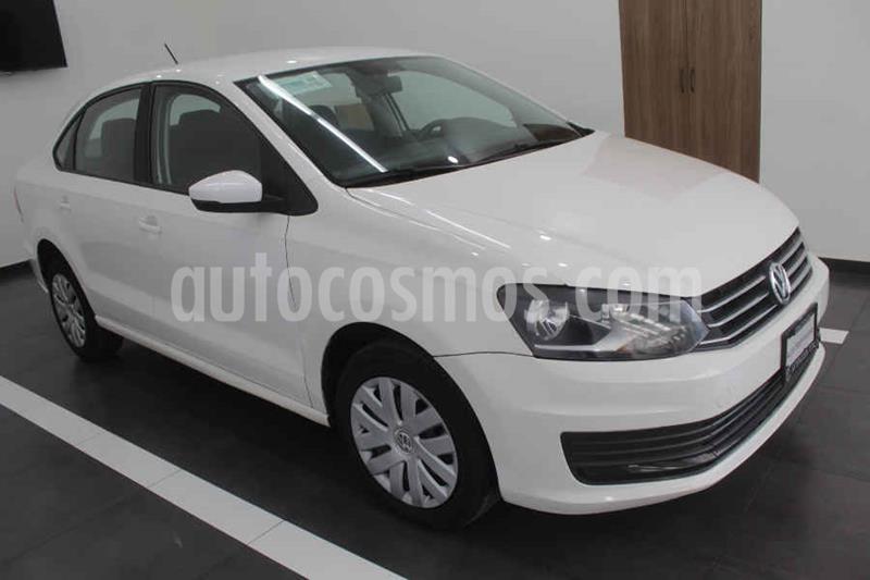 Volkswagen Vento Startline Aut usado (2018) color Blanco precio $179,000