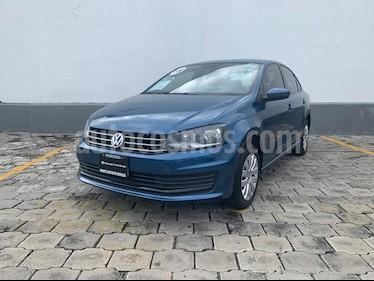 Foto Volkswagen Vento Startline Aut usado (2018) color Azul precio $195,000