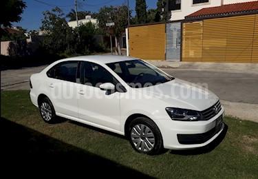 Foto venta Auto usado Volkswagen Vento Startline Aut (2018) color Blanco Candy precio $218,000