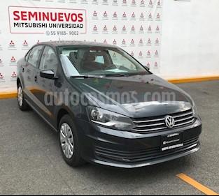 Foto venta Auto usado Volkswagen Vento Startline Aut (2017) color Gris Carbono precio $155,000
