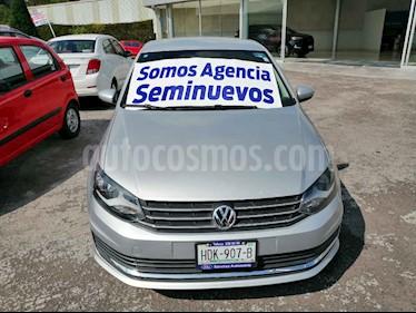 Volkswagen Vento Startline Aut usado (2017) color Plata precio $165,000