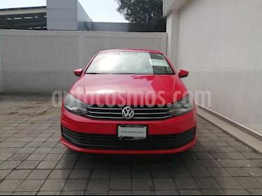 Foto venta Auto usado Volkswagen Vento Startline Aut (2018) color Rojo precio $160,000
