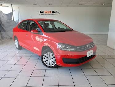 Foto venta Auto usado Volkswagen Vento Startline (2018) color Rojo Flash precio $199,900