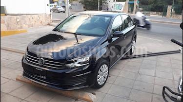 Volkswagen Vento Startline usado (2018) color Negro precio $182,000