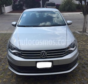 Foto Volkswagen Vento Startline usado (2018) color Plata precio $160,000