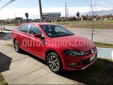 Volkswagen Virtus  1.6L Highline Aut  usado (2018) color Rojo Tornado precio $10.200.000