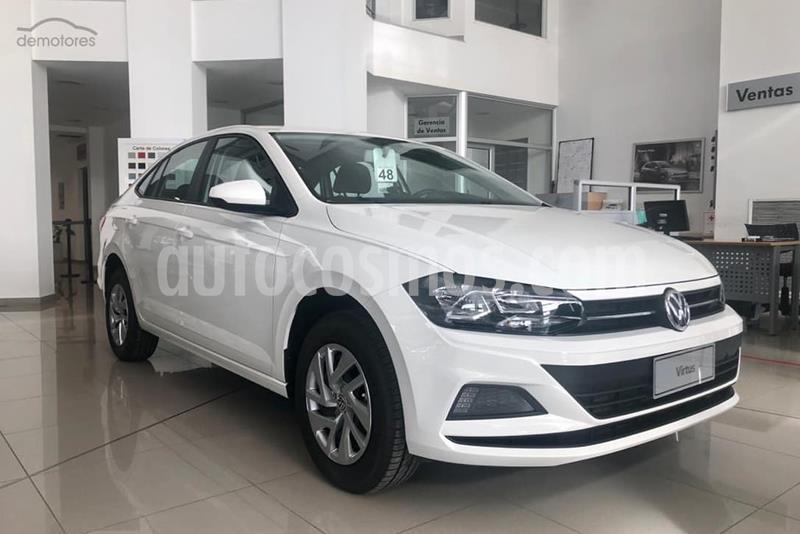 Volkswagen Virtus Trendline 1.6 nuevo color Blanco Cristal precio $1.483.000