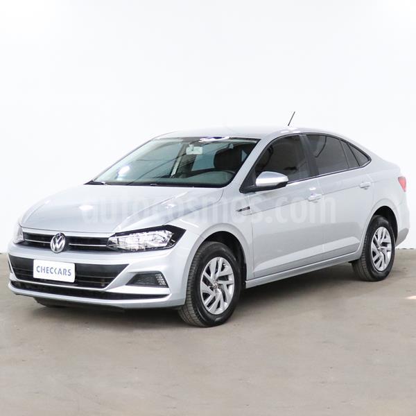 Volkswagen Virtus Trendline 1.6 usado (2018) color Plata precio $1.017.000