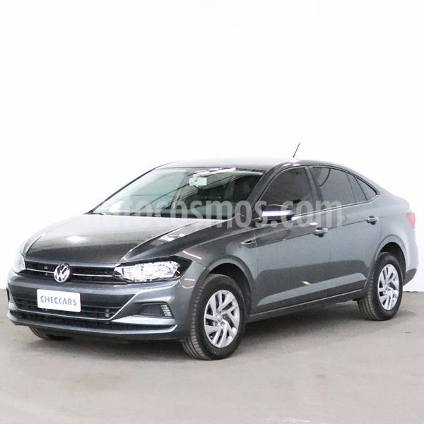 Volkswagen Virtus Trendline 1.6 usado (2019) color Gris Platinium precio $1.224.400