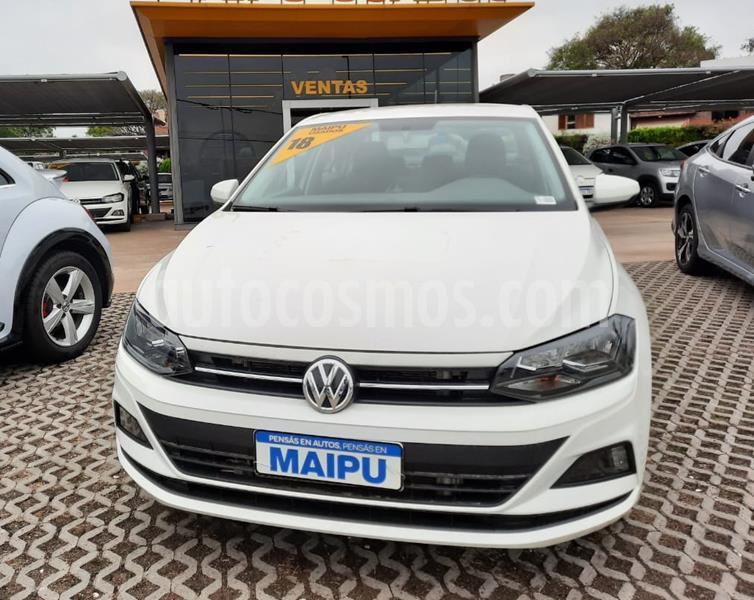 Volkswagen Virtus Trendline 1.6 usado (2018) color Blanco precio $1.150.000