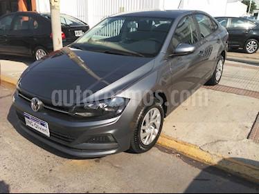 Volkswagen Virtus Trendline 1.6 usado (2020) color Gris Platinium precio $960.000