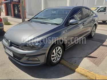 Volkswagen Virtus Trendline 1.6 usado (2018) color Gris Platinium precio $880.000