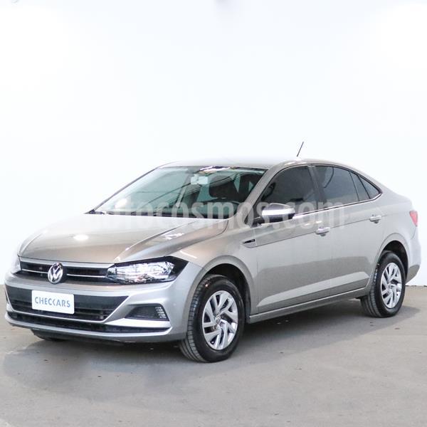 Volkswagen Virtus Trendline 1.6 usado (2018) color Gris Platinium precio $1.122.400