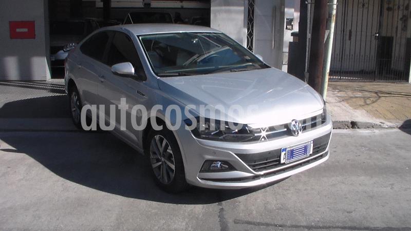 Volkswagen Virtus Highline 1.6 usado (2019) color Plata precio $1.399.900