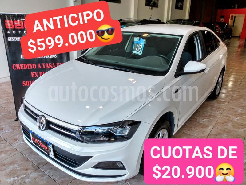 Volkswagen Virtus Trendline 1.6 Aut usado (2018) color Blanco precio $1.300.000