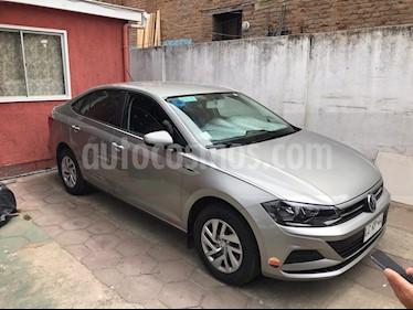 Volkswagen Virtus  1.6L Trendline  usado (2019) color Plata Tungsteno precio $7.490.000