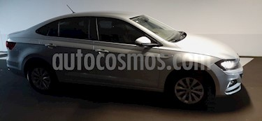 Volkswagen Virtus Comfortline usado (2020) color Gris Platino precio $50.000.000