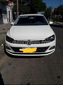 Volkswagen Virtus Comfortline 1.6 usado (2018) color Blanco precio $650.000