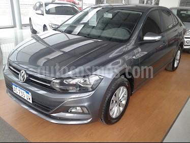 Foto venta Auto usado Volkswagen Virtus Comfortline 1.6 (2018) color Gris Platinium precio $659.900
