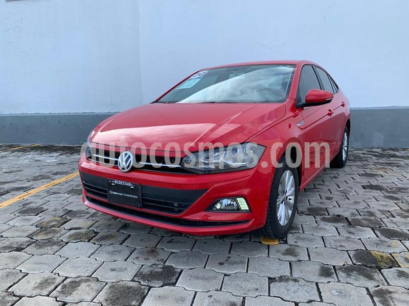 Volkswagen Virtus 1.6L usado (2019) color Rojo Tornado precio $254,900