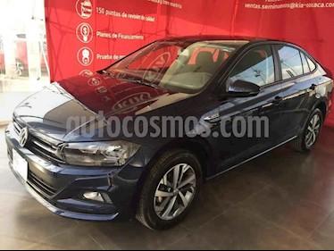 Volkswagen Virtus 4p AT usado (2020) color Azul precio $265,000