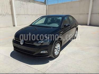 Volkswagen Virtus 1.6L usado (2020) color Negro precio $259,000