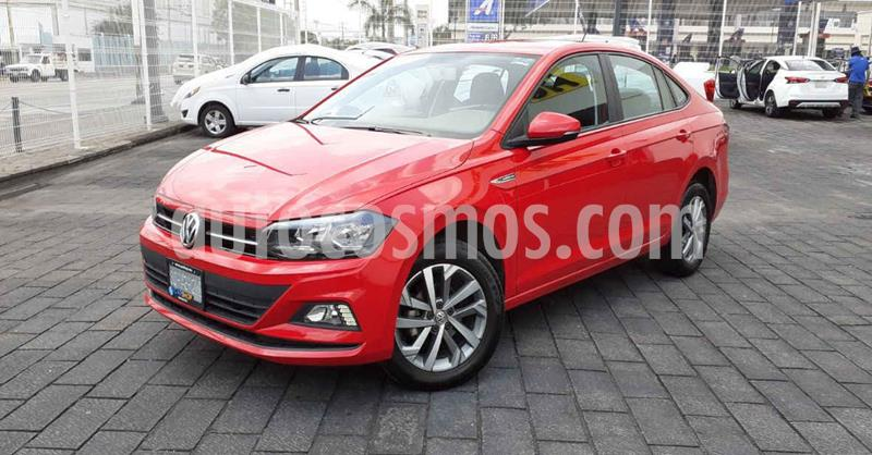 Volkswagen Virtus 1.6L Aut usado (2020) color Rojo precio $239,900