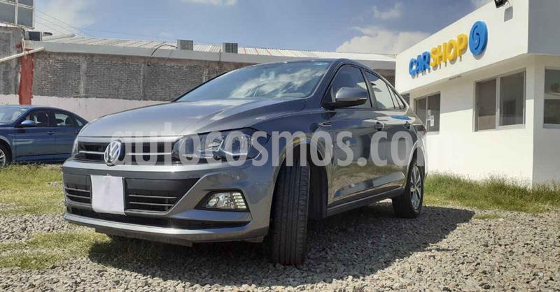 Volkswagen Virtus 1.6L Aut usado (2020) color Gris precio $239,900