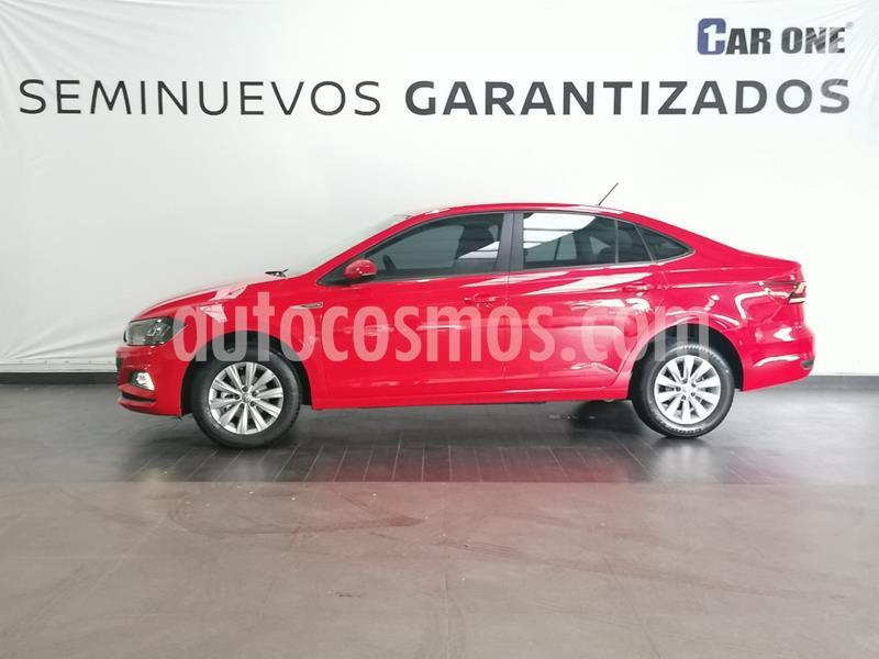 Volkswagen Virtus 1.6L usado (2020) color Rojo Tornado precio $259,900