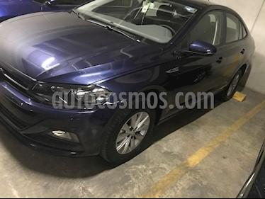 Volkswagen Virtus 1.6L usado (2020) color Azul Noche precio $260,000