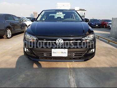 Volkswagen Virtus 1.6L Aut usado (2020) color Negro precio $275,000
