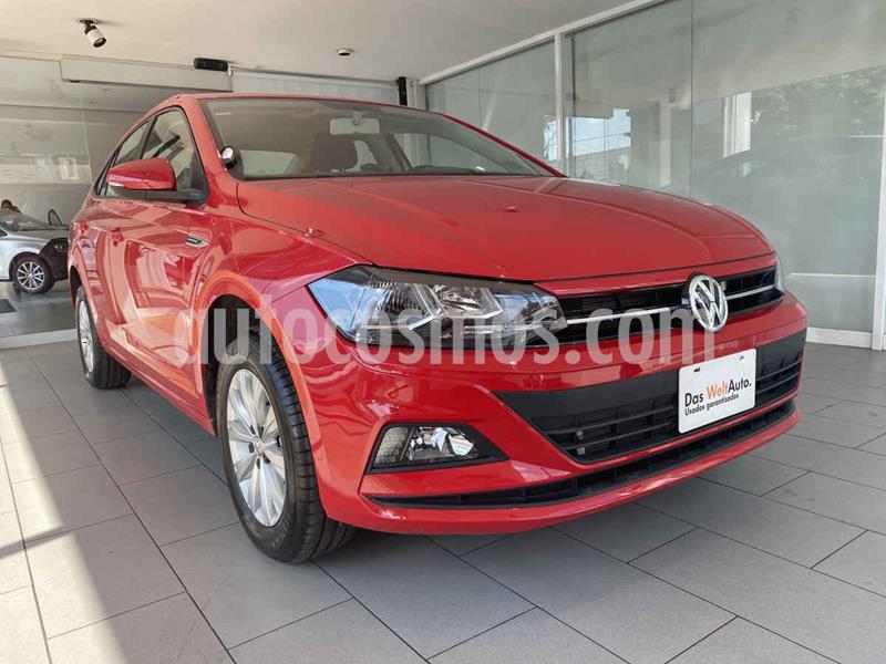 Volkswagen Virtus 1.6L usado (2020) color Rojo precio $250,000