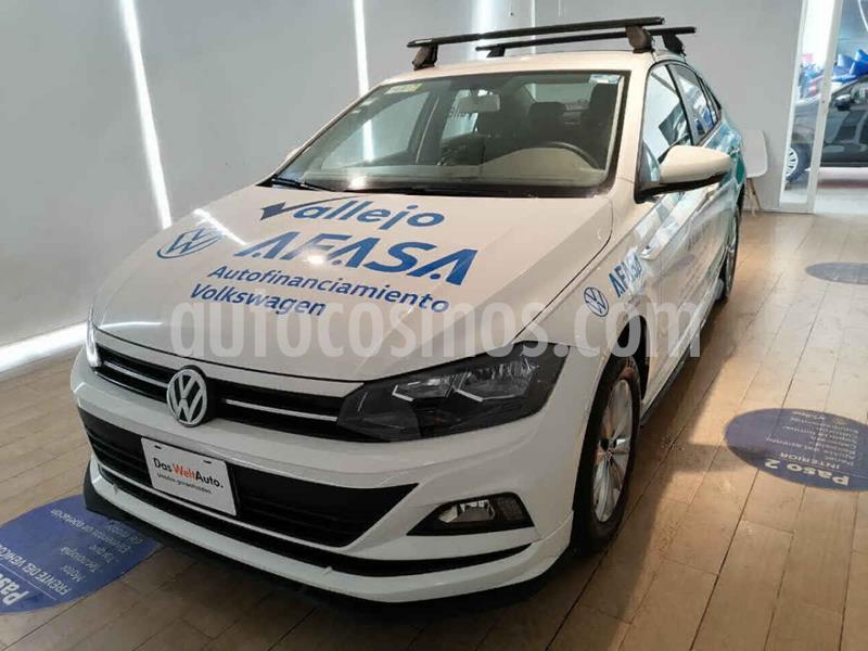 Volkswagen Virtus 1.6L usado (2020) color Blanco precio $260,000