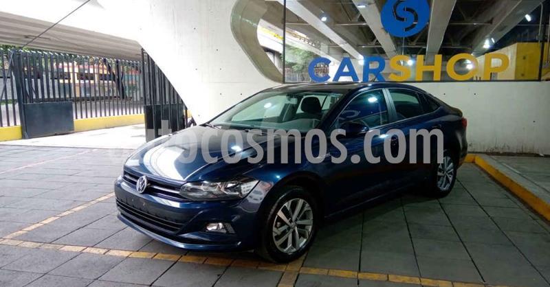 Volkswagen Virtus 1.6L Aut usado (2020) color Azul precio $239,900