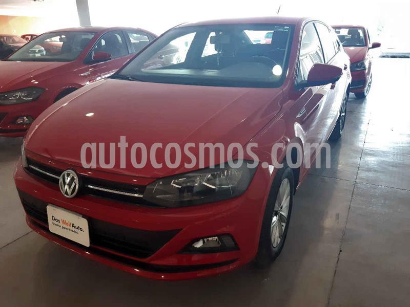 Volkswagen Virtus 1.6L usado (2020) color Rojo precio $249,900