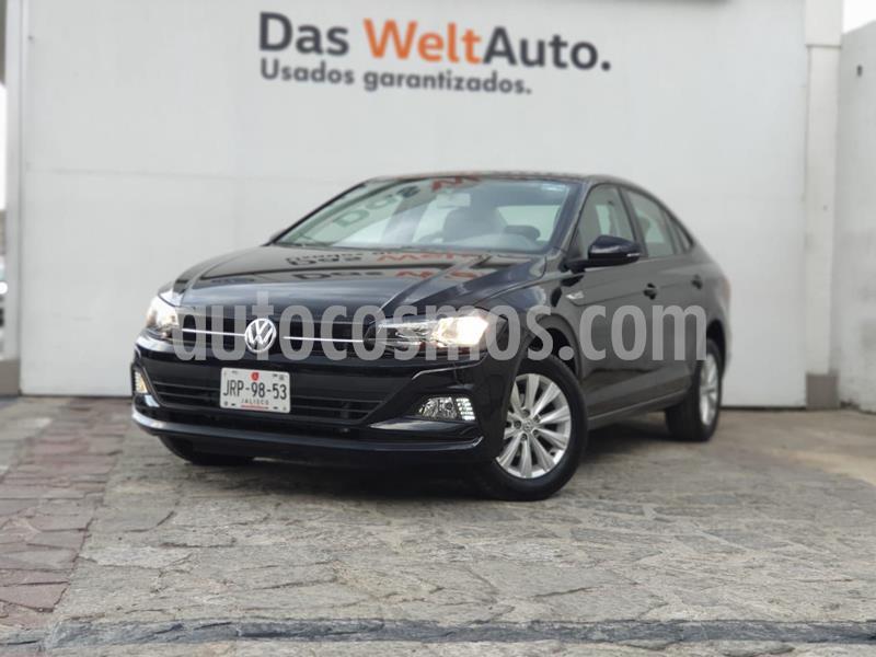 Volkswagen Virtus 1.6L usado (2020) color Negro precio $250,000