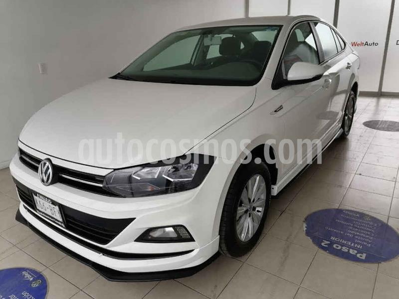 Volkswagen Virtus 1.6L usado (2020) color Blanco precio $275,000