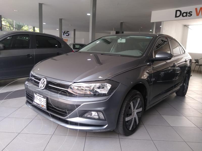 Foto Volkswagen Virtus COMFORTLINE L4 1.6L 110HP FWD ABS BA AC TIP usado (2020) color Gris precio $285,500
