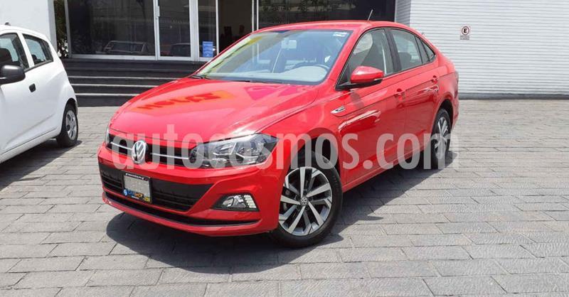 Volkswagen Virtus 1.6L Aut usado (2020) color Rojo precio $236,000