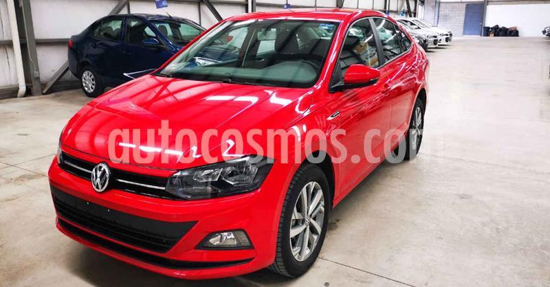 Volkswagen Virtus 1.6L Aut usado (2020) color Rojo precio $244,900